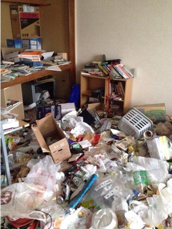 大阪市福島区ゴミ掃除1